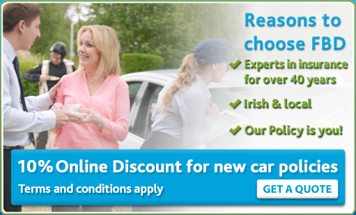 FBD online discount for new car insurance policies