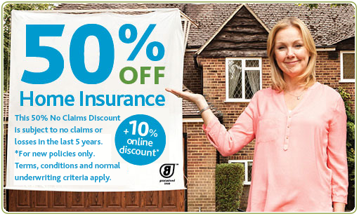FBD online discount on home insurance