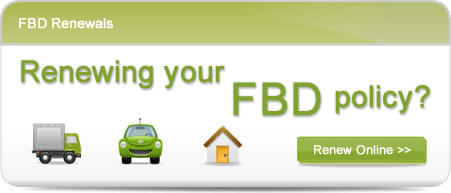 Renew your FBD Insurance Online