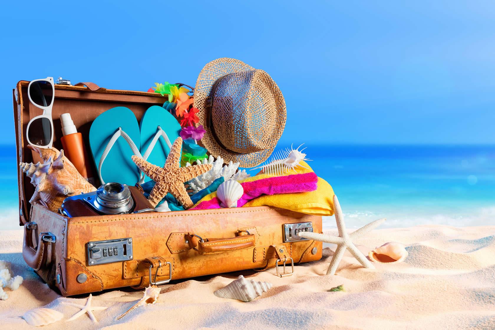 Открытка собираем чемодан в отпуск